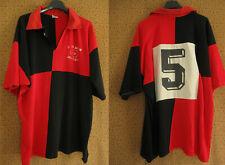 Maillot Rugby Entente Saverdun numéro cousu Porté #5 Acrylique Vintage - 7 / XL