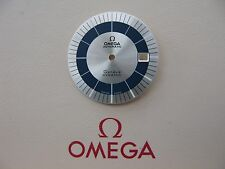 NOS Omega Geneve Dynamic Silver & Blue Dial for calibre 1010/1012 - VERY RARE