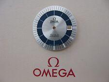 NOS omega geneve dynamic argento e quadrante blu per Calibro 1010/1012 - MOLTO RARO