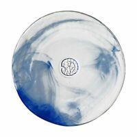 Kosta Boda Mine Serveware Decorative Salad Plate Blue Marble Hand Made Design