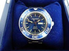 Aragon Divemaster Tritium Blue A056Blu SII NH36 Automatic w SS Bracelet RP $500