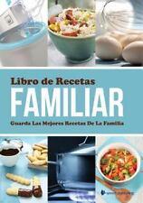 Libro de Recetas Familiar Guarda Las Mejores Recetas de la Familia by Speedy...