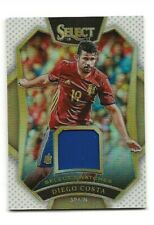 2016-17 PANINI SELECT SOCCER DIEGO COSTA PRIZM JERSEY CARD # /99 SPAIN SILVER