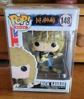 Funko POP! Rocks Def Leppard Rick Savage #148