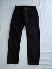 Dolce & Gabbana Men's Gold 14 Denim Jeans Black Slim EU44 UK 28 Waist RRP £595
