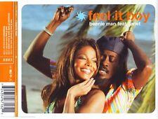 Beenie Man Feat. Janet Maxi CD Feel It Boy - Australia (M/M)