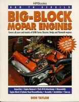 How To Rebuild Big Block Mopar Engines 383 400 413 426 440 Book Dodge Plymouth