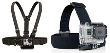 ProGear Chest And Headstrap Mount Bundle For GoPro HERO 1/2/3/3+/4 Camera
