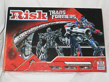 Risk Transformers Cybertron War Edition Board Game. Parker Brothers. Unused