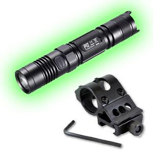 2015 Edition Nitecore P12 Flashlight 1000 Lumens w/Offset Weapon Mount