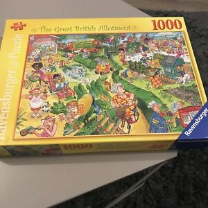 RAVENSBURGER 'The great British allotment' 1000 Piece Jigsaw Puzzle
