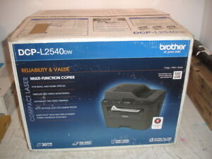 Brother DCP-L2540DW Multi-Function Copier NEW (Missing Software and Manual)