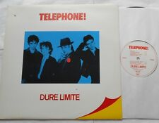 TELEPHONE Dure Limite NM- CANADA ORIGINAL 1982 VIRGIN VM-2242 FRENCH ROCK LP