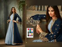 Ethnic Anarkali Salwar Kameez Pakistani Casual Shalwar Suit Party Wedding Dress
