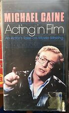 Michael Caine: Acting in Film (VHS) Rare 1987 BBC-produced acting class