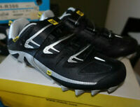 Mavic Pulse Mens US Size 4 EUR 36 MTB Mountain Bike Cycling Shoe Black New