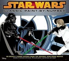 Star Wars Classic Paint-By-Number by Jason Fry Hardcover Book (English