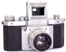 Praktiflex - 35mm SLR Camera by KW Niedersedlitz + ZEISS Biotar 1:2 f=5.8cm Lens