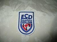 """ECD Sauerland Iserlohn Eishockey Aufnäher """"ECD Sauerland ISERLOHN"""" TOP"""