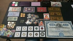 COIN LOT Estate Coin Collection Old US Coins,☆ World,Mint,SILVER,Currency, PROOF