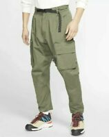MEN'S NIKE ACG WOVEN CARGO PANTS Olive Green CD7646-325 Size 2XL Retail for $180