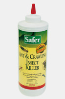 7oz SAFER Ant Crawling Insect Bed Bug Killer Diatomaceous Earth Powder 5168 NEW