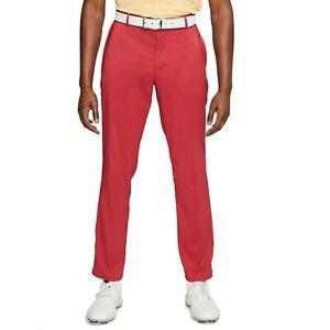 Nike Flex Victory Golf Pants AJ5489-609 Red 33 x 34 pga tour Men's