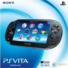 PlayStation Ps Vita 1000 3G/WI-FI Bundle Very Good Portable System 8Z