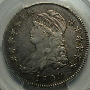 1809 Capped Bust Half Dollar - III Edge - Graded PCGS XF45 Top Quality!