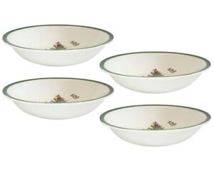 Spode Christmas Tree Cereal Bowls x 4 - NEW UNUSED