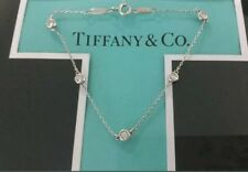 "Tiffany & Co  Silver ""Diamonds By The Yard"" Bracelet"