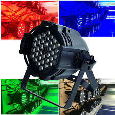 162W DMX PAR64 RGBW Light 54 LED Stage Lighting XMAS PARTY DJ Disco Light Show