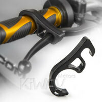 KiWAV black brake lever lock jammer for motorcycle loading transportation