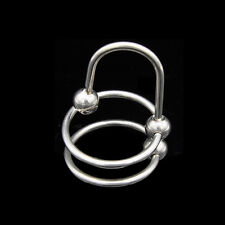 Factory Price Stainless Steel Sounding Urethral Stretching 2 Rings A073