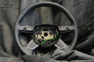 Org Audi A3 8V Lenkrad Leder 8U0419091AD Multifunktion  schwarz wenig gelaufen!