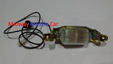 NEW  license plate light lamp assembly 65-72 Pontiac GTO Lemans Tempest