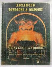 3rd Printing AD&D Players Handbook TSR Gary Gygax AD&D (1e and 2e), Rare TSR