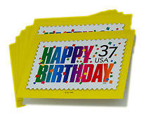 Bulk Birthday Cards Pack of 100 Cards and 100 Envelopes Confetti Stamp Design
