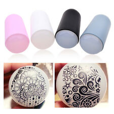 EXTRA SOFT Sillicon Nail Art Stamper Big Stamper Stamping Soft Silicone Gel Head