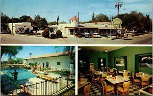 Postcard Multiple Views of Broadway Courts in Las Cruces, New Mexico~137239