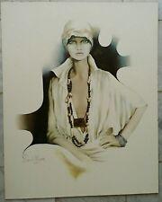 "Litho originale de Sara MOON ""LISA"" 1976 - Red Baron - numérotée - 65 x 52 cm"