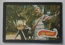 Planet of the Apes - Original 1968 trading card Uk release- Card 17 'Say Cheese'