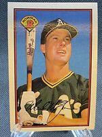 Bowman Mark McGwire #197 Oakland As