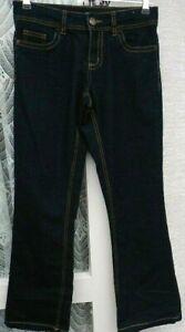 "( Ref 1854 ) Denim & Co - Size 8 W 28"" - Ladies Blue Bootcut Jeans / Trousers"