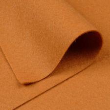 Woolfelt Cinnamon Brown ~ 22cm x 90cm / christmas gingerbread men felt fabric