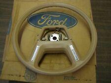 NOS OEM 1984 1985 1986 Ford LTD Crown Victoria Steering Wheel Taurus Mustang Tan