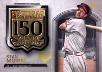 2019 TOPPS SERIES 2 - 150TH - 150TH ANNIVERSARY MEDALLION - STAN MUSIAL /150