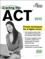 Cracking the ACT with DVD, 2013 Edition (College T