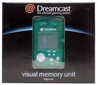 Dreamcast - VMU / Memory Card #grün [Sega] NEU & OVP