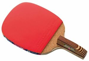 Butterfly Senkoh 1500 Penhold Table Tennis Racket with Rubber and Brown Han
